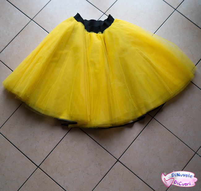 tutorial gonna ruota 12 strati tulle