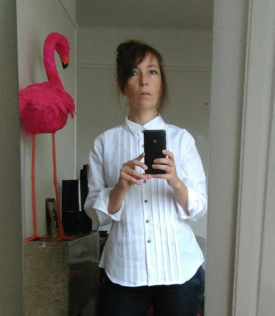 tester camicia Giulia DNDC