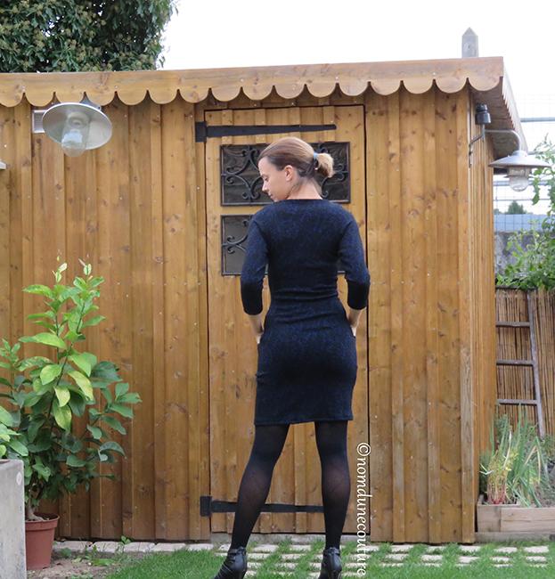 tester vestito Olivia DNDC