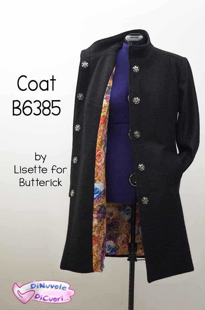 Coat Butterick B6385