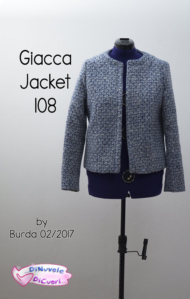 Giacca tipo Chanel 108 Burda 02 2017