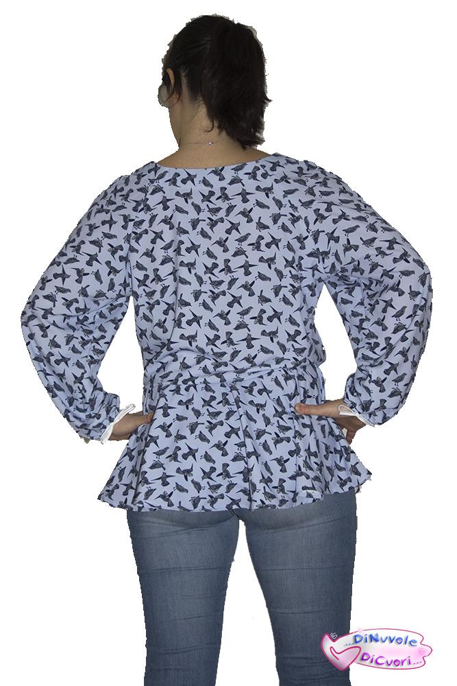 Nuovo cartamodello DNDC: Atena, la blusa raglan
