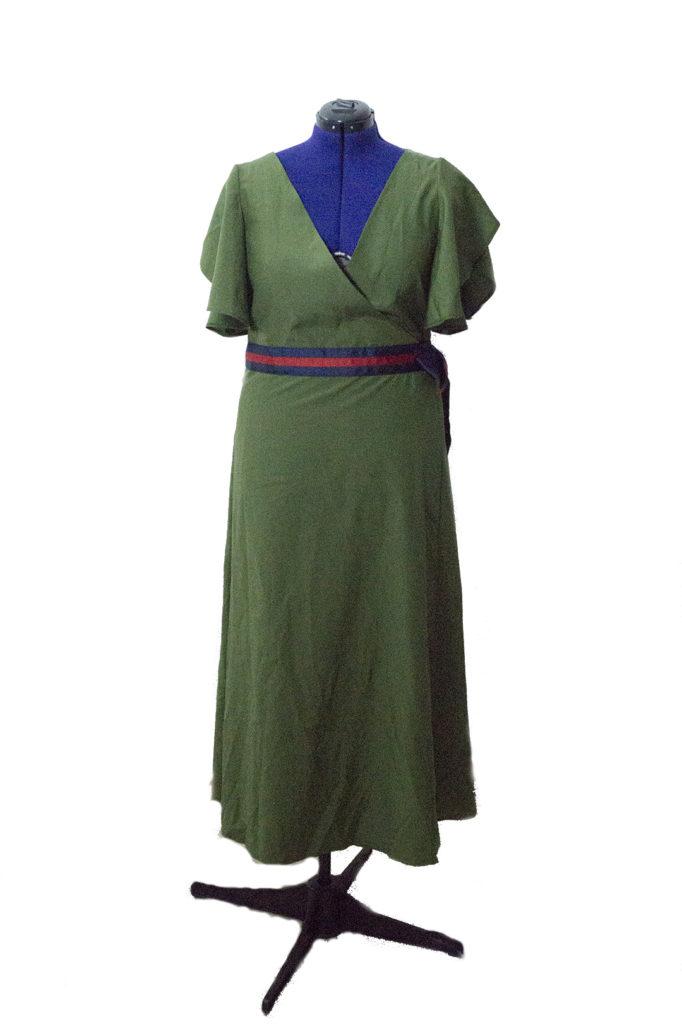 Il vestito Gucci: davanti