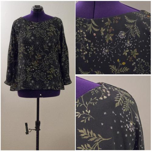Maglia Maniche Kimono